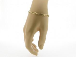 Gouden armbandje met close for ever schakeltjes