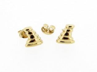 Gouden hoorn oorknopjes