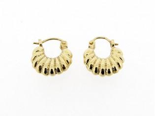 Gouden zigeuner oorbellen