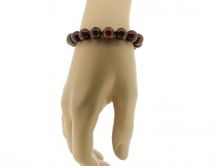 Armband met hoogglanzende Brekzien  Jaspis edelstenen.