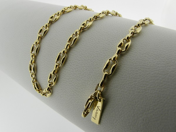 Gouden halsketting fantasie close for ever ketting