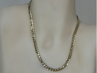 Gouden halsketting horloge ketting collier