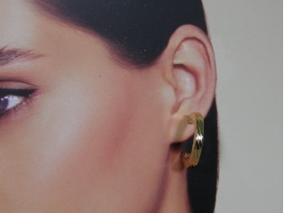 Gouden Franse oorhanger