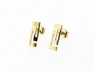 Gouden kleine Griekse oorsteker