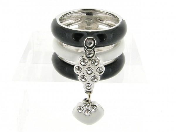 Zilveren Clamori ring