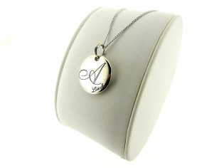 Zilveren Liu Jo collier met hangertje