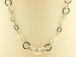 Gouden halsketting High Fashion ringen collier