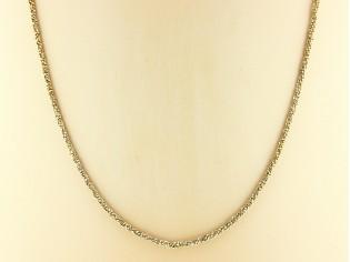 Gouden halsketting rosé High Fashion gediamanteerd collier