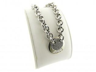 Zilveren Jasseron armband met charm