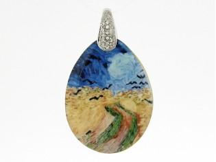 Zilveren van Gogh Clamori medaillon