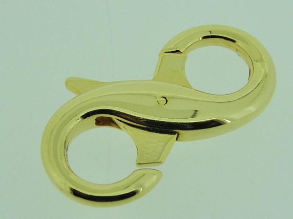 Citrien edelsteen collier met split edelsteentjes