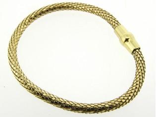 Zilveren armband met gouden toplaag