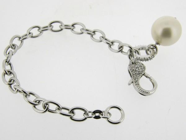 Zilveren armband met jasseron schakeltjes
