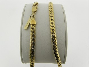 Gouden halsketting slangen gourmet gevochten schakel collier