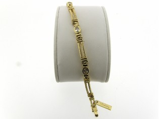 Gouden cocktail armband