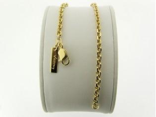 Gouden armbandje met diamant vlak geslepen jasseron schakeltjes