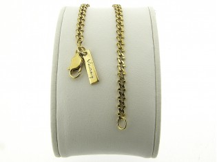 Gouden  fantasie gourmet armband