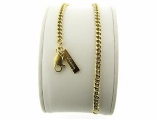 Gouden armbandje met gourmet gediamanteerd geslepen schakeltjes