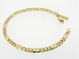 Figaro gouden armband
