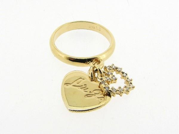 Zilveren ring, Liu Jo accessoire met bedeltjes